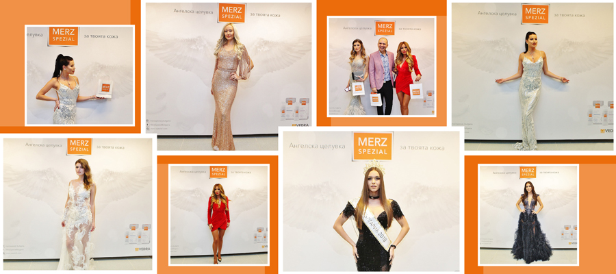 Merz Spezial Bulgaria with a special participation at the Miss Bulgaria 2020 beauty contest