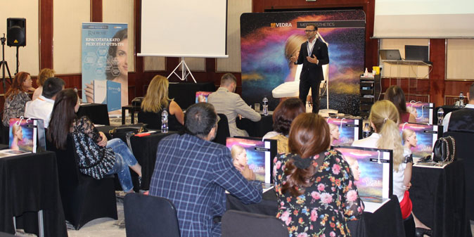 Vedra Organized Two Expert Summits in Sofia and Moscow for Top Aesthetic Dermatologists